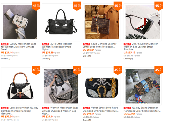 Best replica woman bag stores on Aliexpress(Chanel