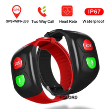Watch Smart-Band Call WIFI Swimming-Heart-Rate Elderly Bracelet GPS Remote-Monitor Position
